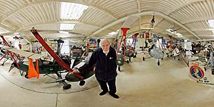 Wing Commander Ken Wallis